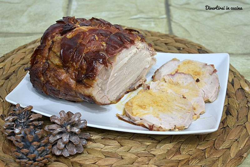Arrosto di maiale in porchetta