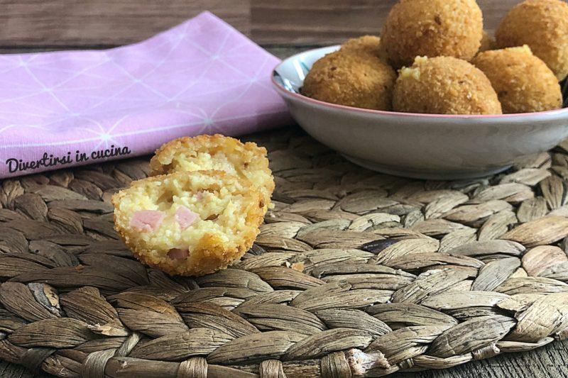 Crocchette di patate con e senza Bimby