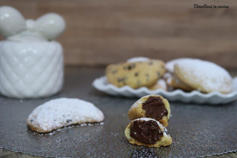 Ravioli alla Nutella e gocce di cioccolato