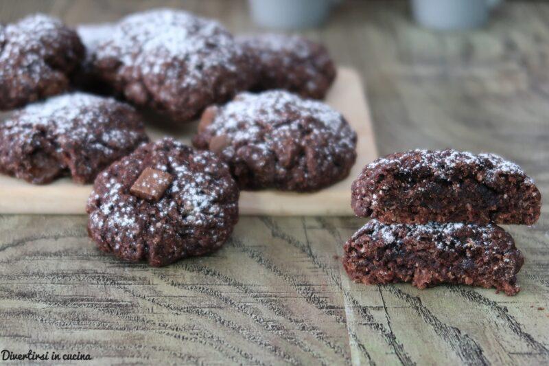 Biscotti cocco e cacao