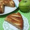 Torta di mele con farina integrale senza lievito