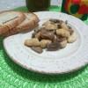 Straccetti di pollo ai funghi con latte di soia