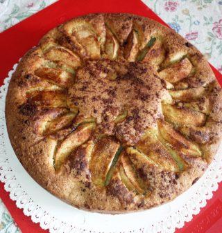 La mia torta di mele e cannella