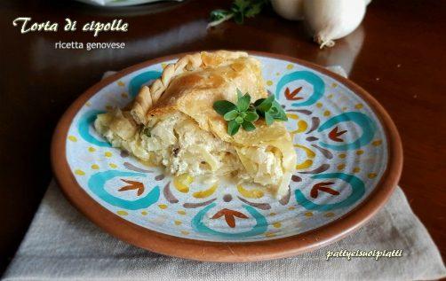 Torta di cipolle ricetta genovese