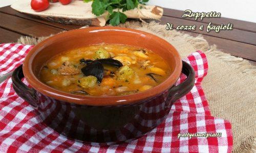 Zuppetta di cozze e fagioli
