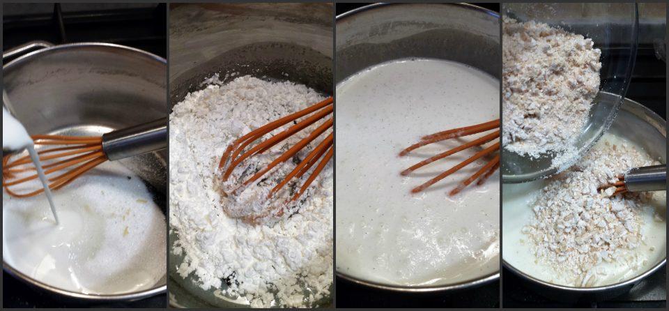 rotolo dolce con crema al torrone
