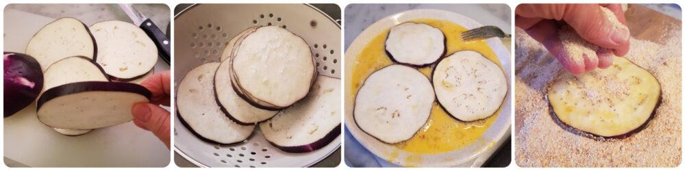 pizzette di melanzane impanate