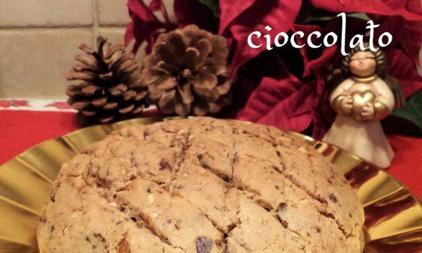 Pandolce fichi nocciole e cioccolato