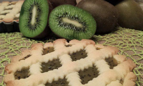 Crostatine sablè con confettura di kiwi