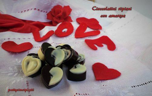 Cioccolatini ripieni con amarene
