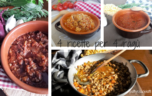 4 ricette per 4 ragù