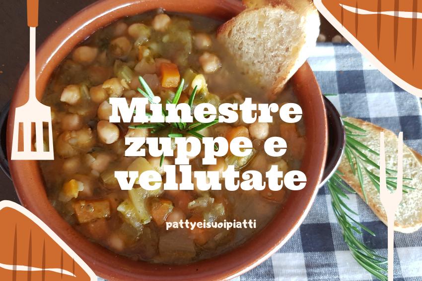 minestre zuppe e vellutate