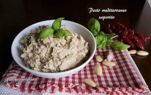 Pesto mediterraneo saporito