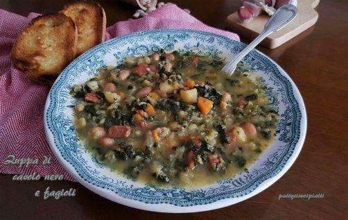 Zuppa di cavolo nero e fagioli