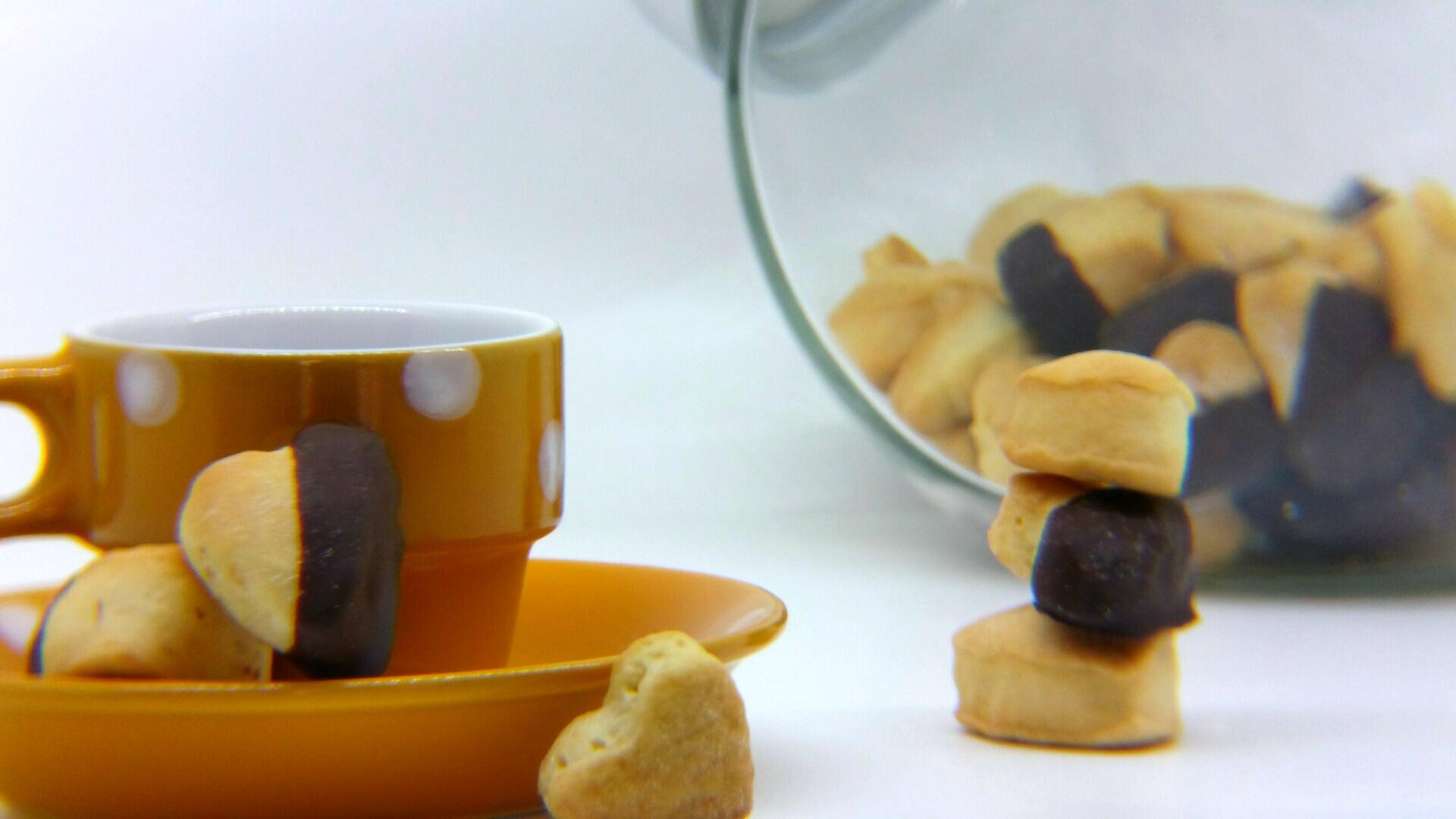 Biscotti ciocco-vaniglia