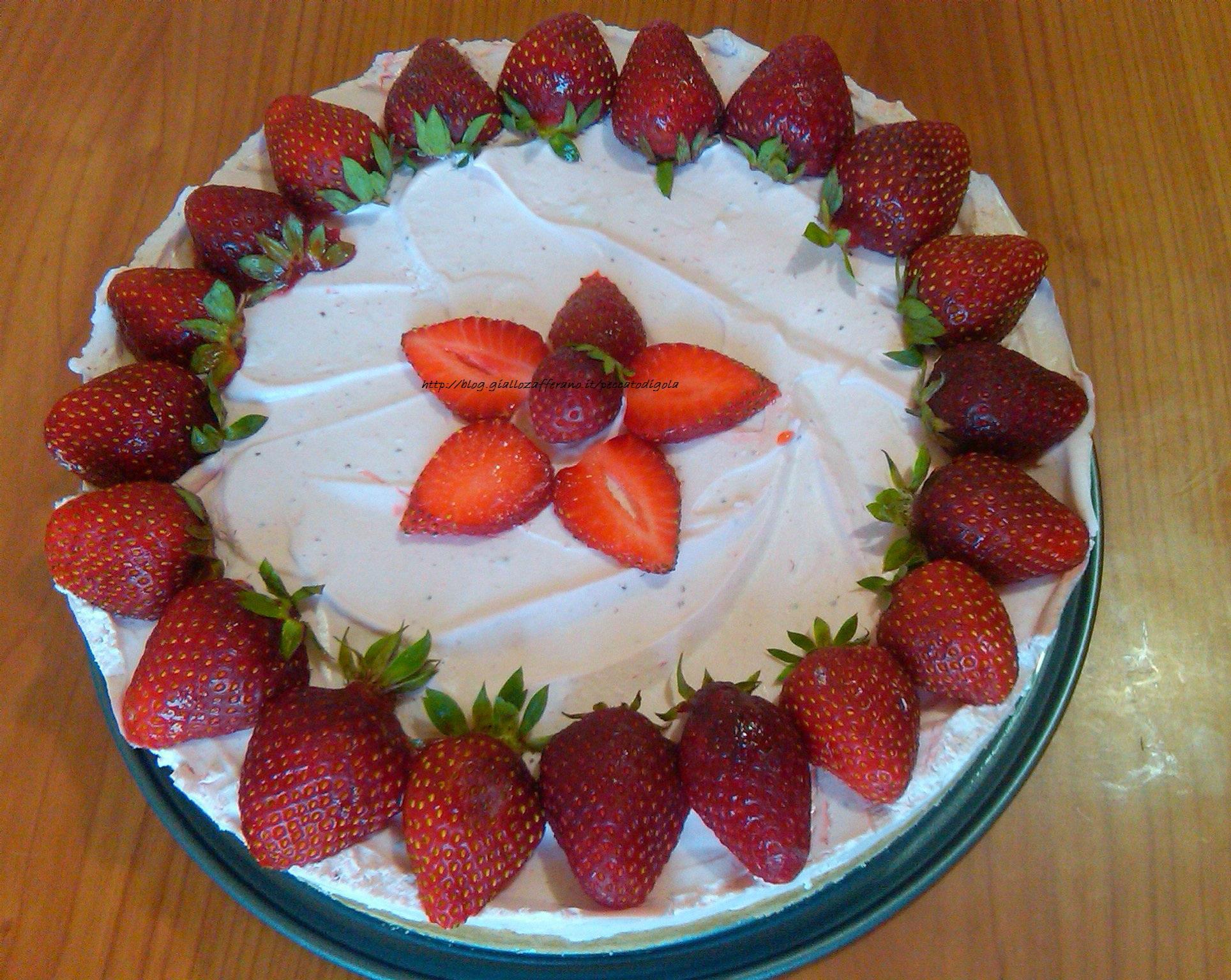 6) la torta fredda allo yogurt pronta