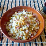 9) il riso alla cantonese pronto