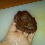 2) Un pò di Nutella nel mezzo