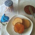 7) la marmellata di albicocche pronta