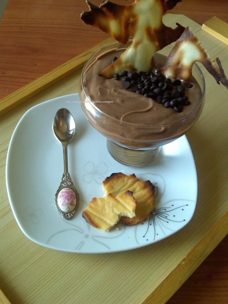 5) la coppa di yogurt alla Nutella pronta