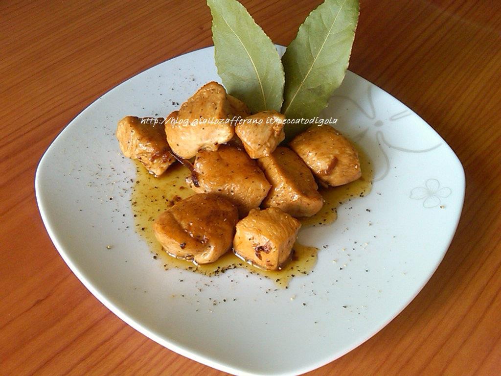 5) i bocconcini di pollo al marsala pronti