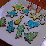Biscotti di Natale (da appendere)