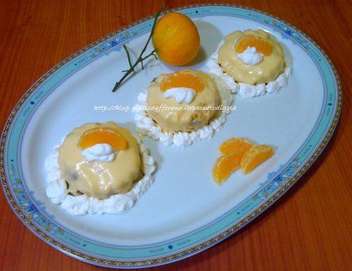 Delizia al mandarino con panettone