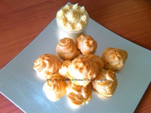 8) la pasta bignè (pasta choux) pronta