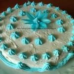 7) la torta pan di Spagna pronta