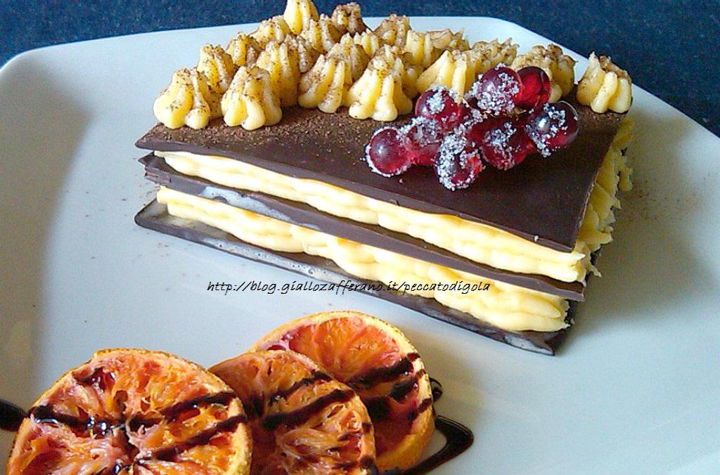 6) tiramisù al cioccolato senza savoiardi