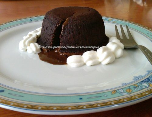 Flan al cioccolato