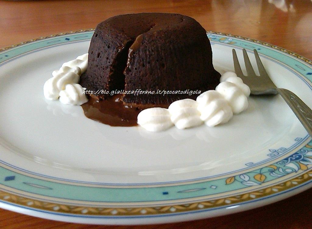 10) il flan al cioccolato pronto