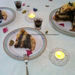 8) il finto ciambellone bicolore pronto
