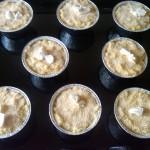 10) coprite con il restante riso e aggiungete altro pan grattato e burro