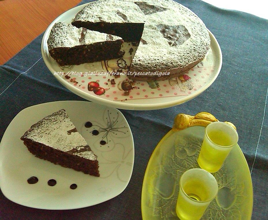 8) la torta caprese pronta