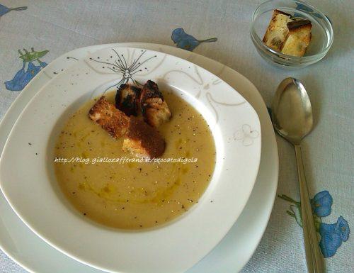 Crema ai porri e patate | ricetta primo piatto