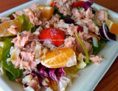 Insalata di tonno | ricetta light