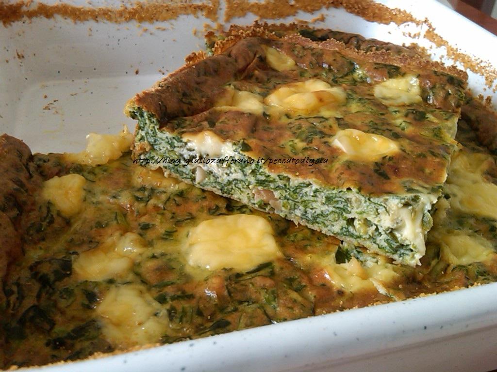 10) la frittata al forno alla Laudia pronta