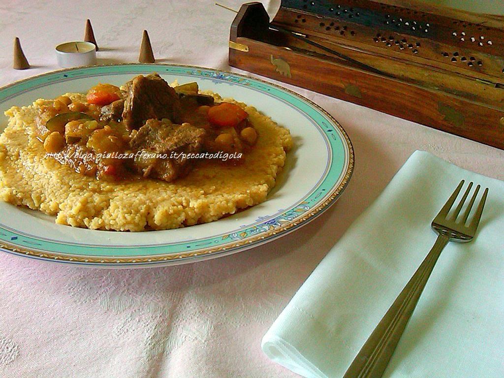 8) il cuscus tunisino pronto