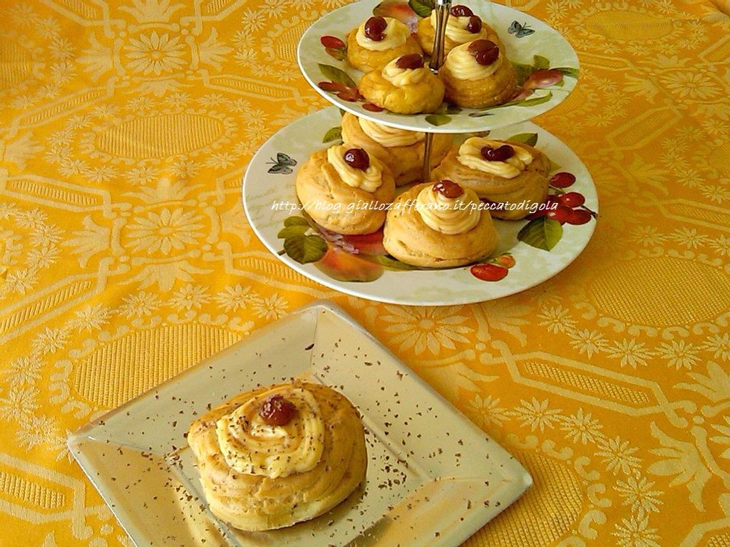 4) le zeppole di san giuseppe fritte e al forno pronte