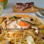 4) gli spaghetti alla puverielle pronti