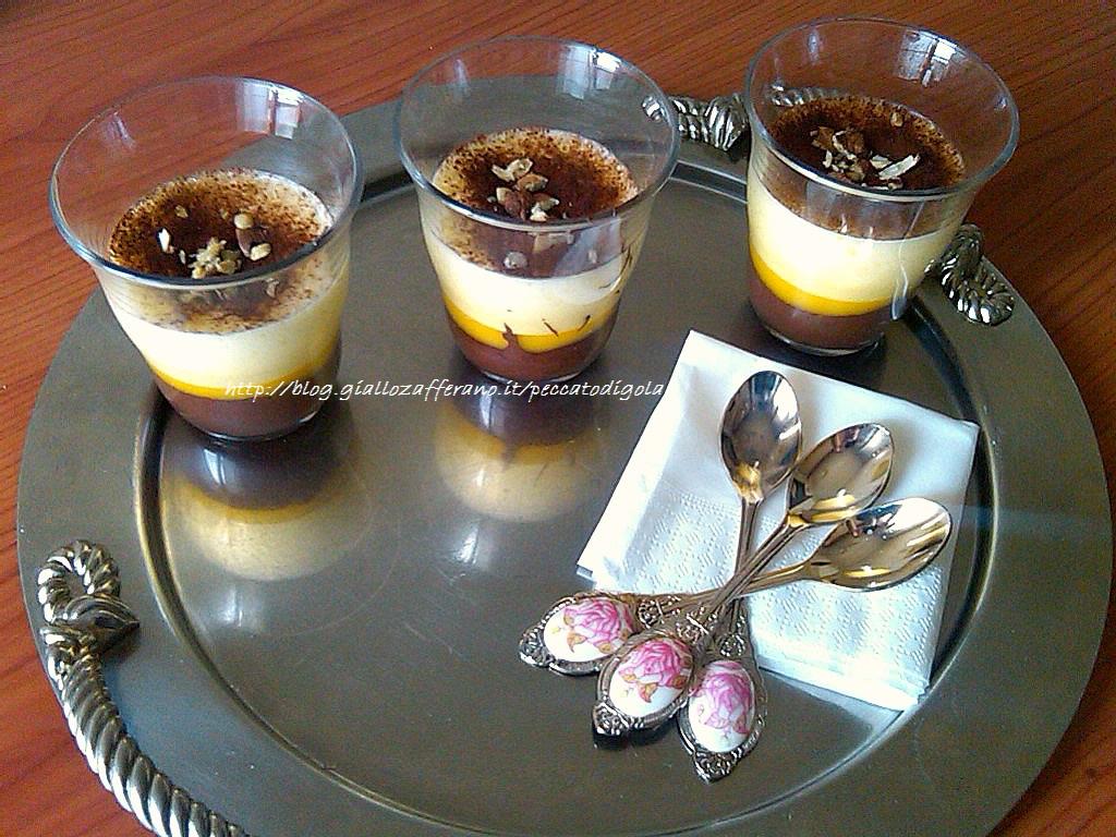6) la crema di nocciole e zabaione pronta