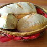 16) il pane con lievito madre pronto