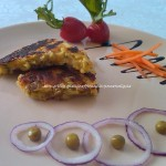 6) la frittata senza uova (per celiaci e vegani) pronta