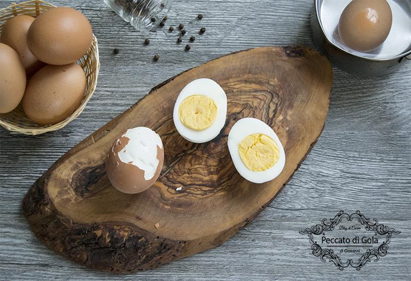 ricetta uova sode, peccato di gola