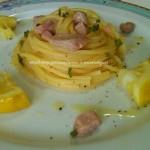 4) i vermicelli al tonno e limone pronti