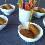 7) le polpette di ricotta e zucchine pronte