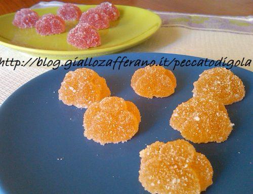 Gelèe di frutta – caramelle gommose
