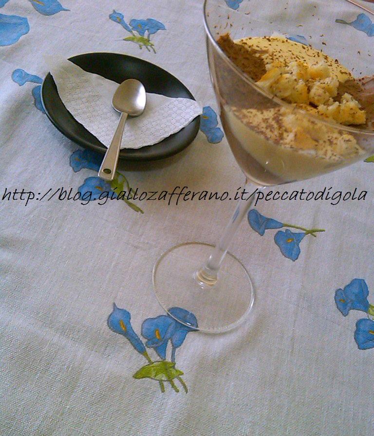 7) la crema al mascarpone e cioccolato pronta