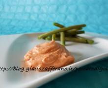 Salsa rosata per carni e verdure